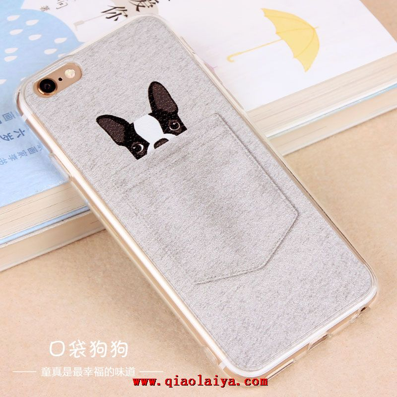 coque iphone6 plus 5 5 mignon animal motif etui pas cher chic. Black Bedroom Furniture Sets. Home Design Ideas