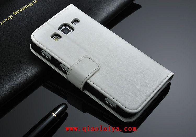 Galaxy Core Advance personnalisé étui en cuir d affaires GT-I8580 téléphone  portable Coque de protection vente chaude en ligne a1346ac0d407