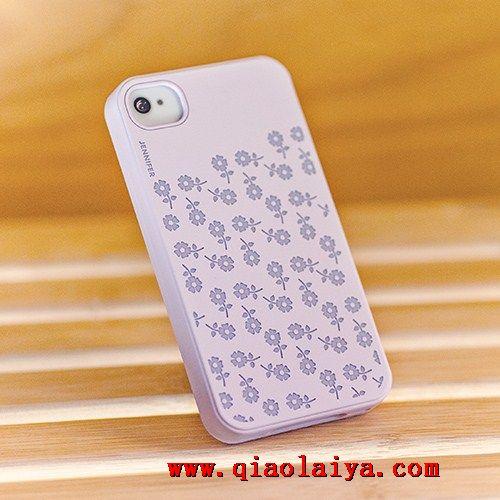 Pomme téléphone 4s coque motif de fruit de citron iphone4s manchon de silicone coque étui de