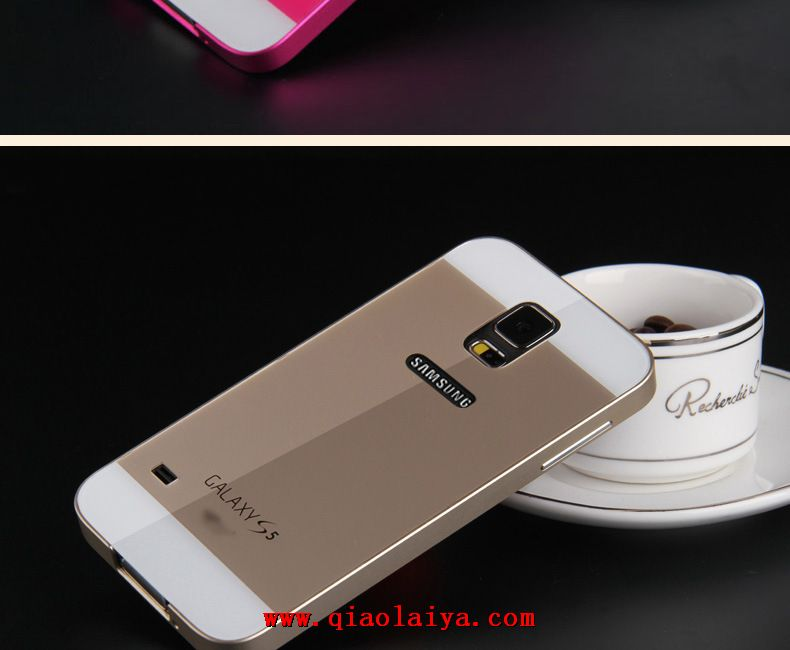 samsung galaxy s5 m tal coque de protection t l phone. Black Bedroom Furniture Sets. Home Design Ideas