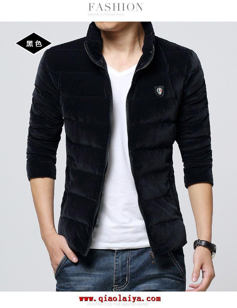 2014 mode manteau pas cher style slim pour homme down coat. Black Bedroom Furniture Sets. Home Design Ideas