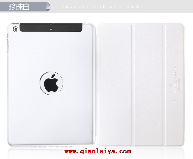 Apple ipad air ultra caisse mince de housse de protection support coque cuir or m tallique vente - Caisse apple ...