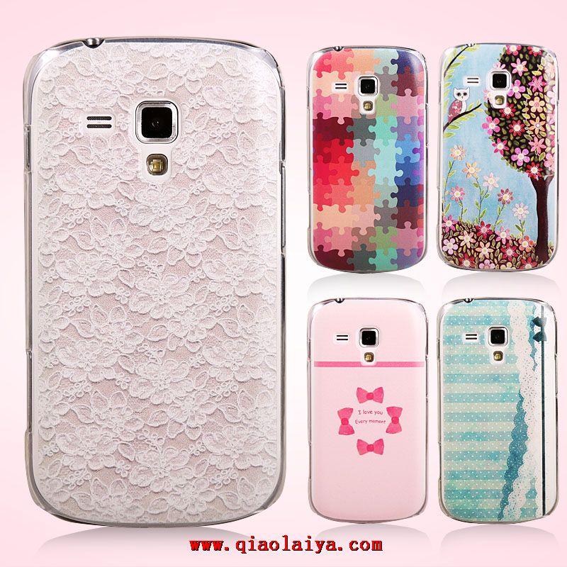 Samsung galaxy trend duos tui en plastique cristal gt - Coque de telephone samsung galaxy trend lite ...