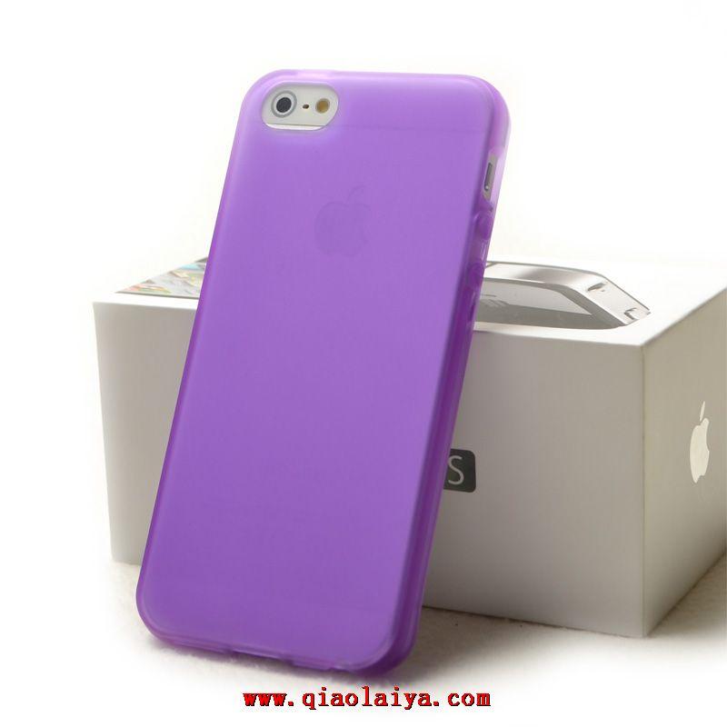 coque violette iphone 5