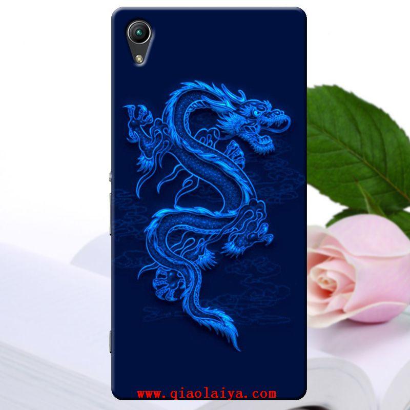 Sony Xperia Z2 Dragon Chinois Housse De Portable Dessin