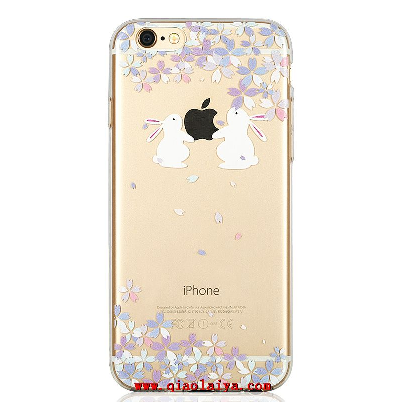 coque transparente motif iphone 6