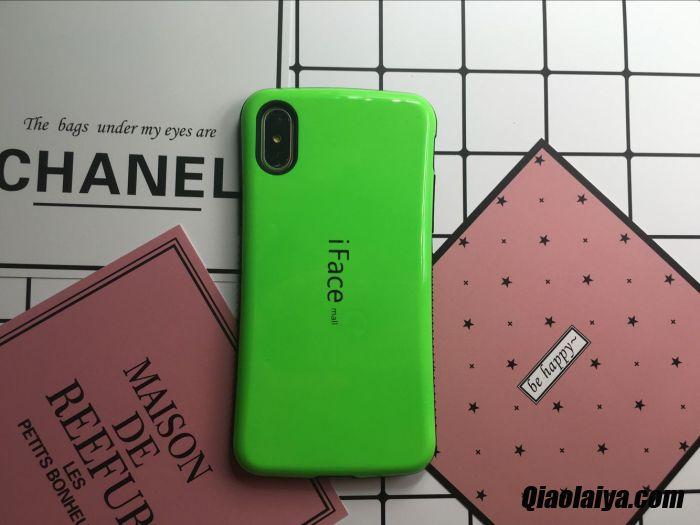 coque iphone x vert