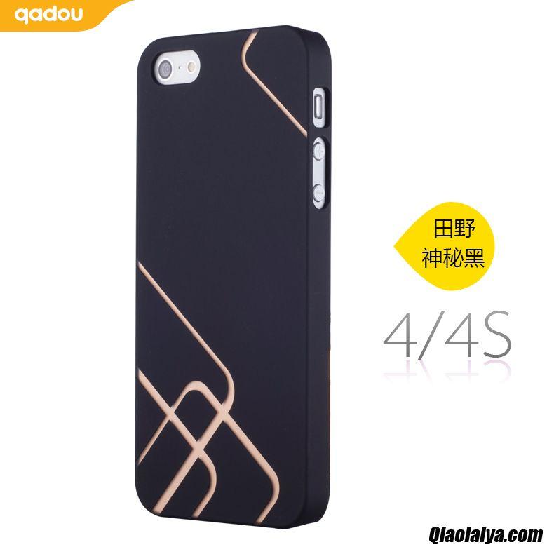 coque pour iphone 4 4s coque t l phone personnalis e gris. Black Bedroom Furniture Sets. Home Design Ideas