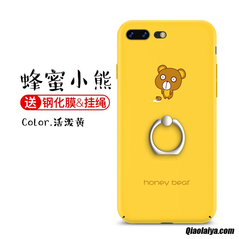 coque apple iphone 8 plus jaune
