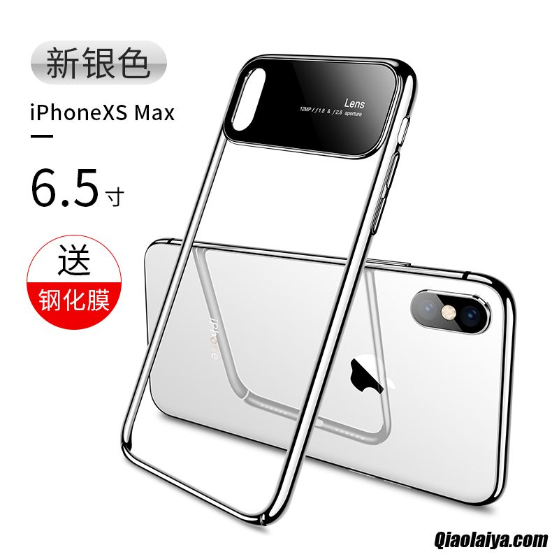 coque iphone xs max transparante