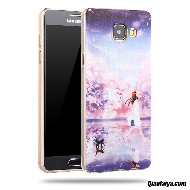 Coque Pour Samsung Galaxy A3 2016 En Ligne, Etui Site De Coque Personnalisable Marine, Etui A Rabat Samsung Galaxy A3 2016 Tissu