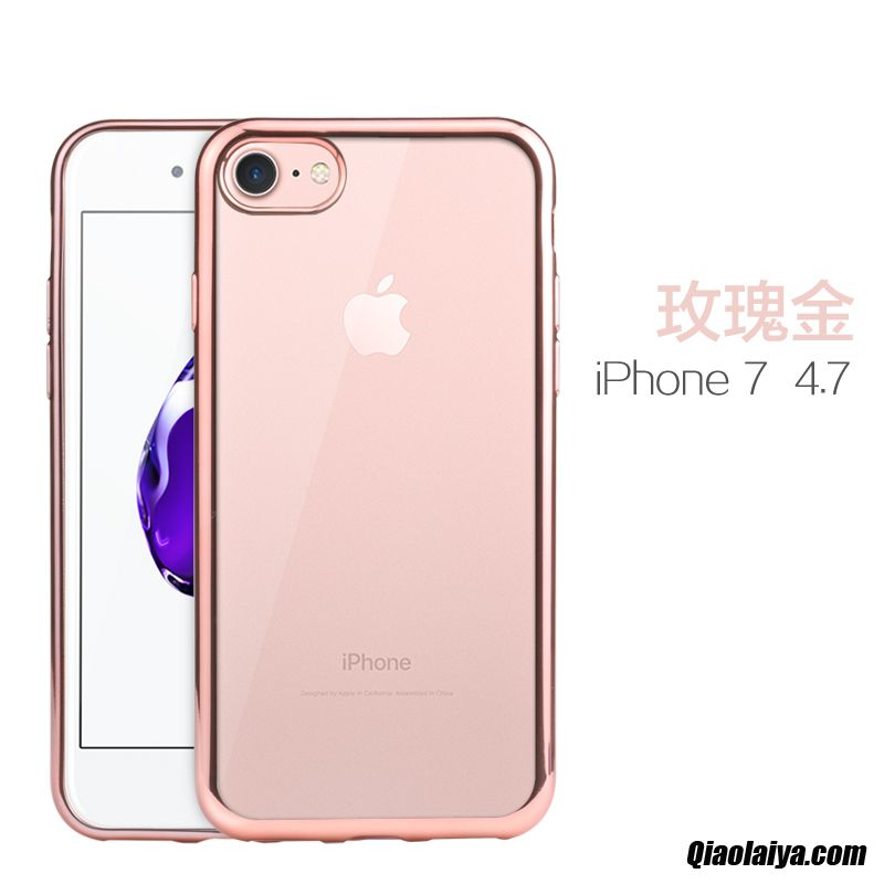 coque iphone 7 originale rose