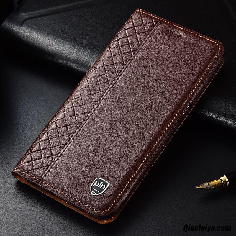 coque cuir huawei p30 pro