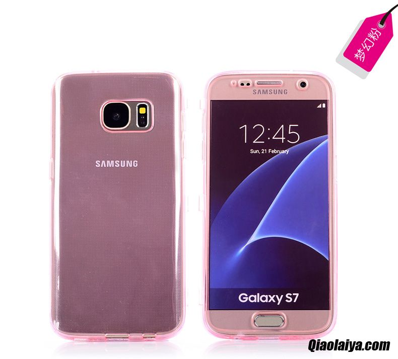 coque galaxy s7 rose