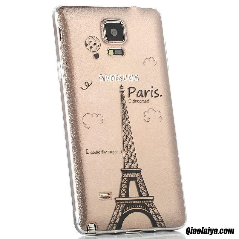 Housse Galaxy Note 4 Guess Enfants, Coque Pour Samsung Galaxy Note 4, Etui Coque Boutique Sarcelle