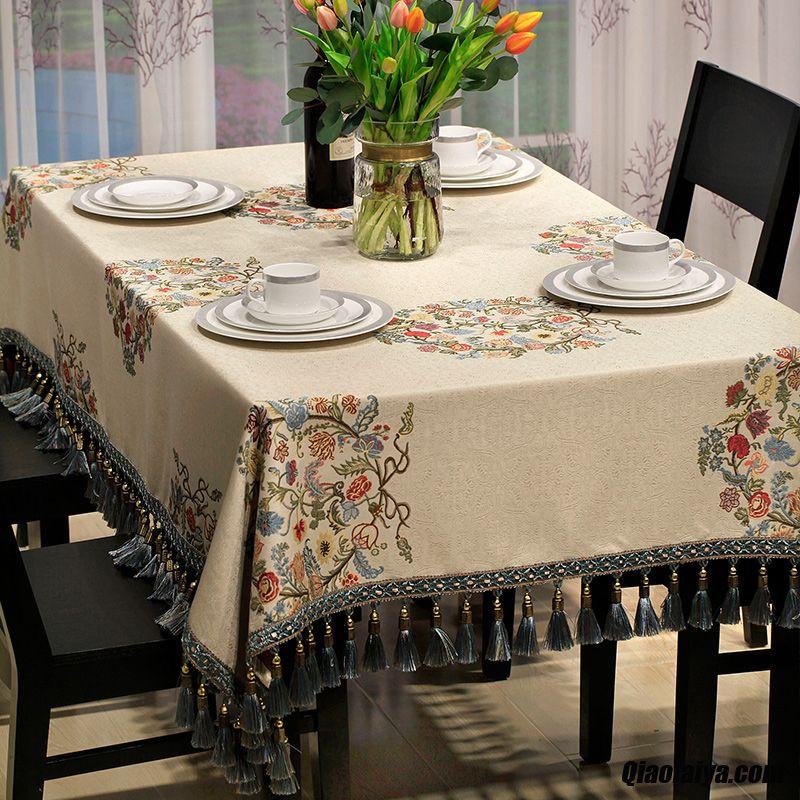 textile de maison nappes table manger meuble tv nappe de. Black Bedroom Furniture Sets. Home Design Ideas