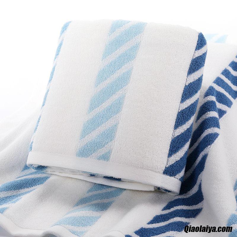de maison serviettes de bain homme gros absorption de l'eau coton