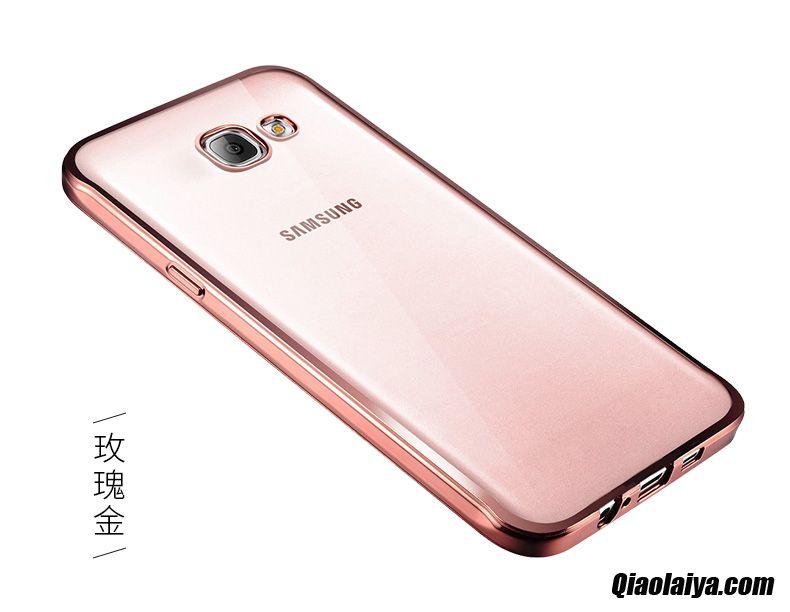 Coque Pour Samsung Galaxy A3 2016, Samsung Galaxy A3 2016 Accessoires Étui En Cuir Souple, Housse Coques Mobile Azur