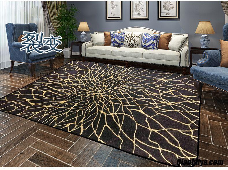 Textile De Maison Chambre Simple Moderne Rectangle Chevet Darkviolet