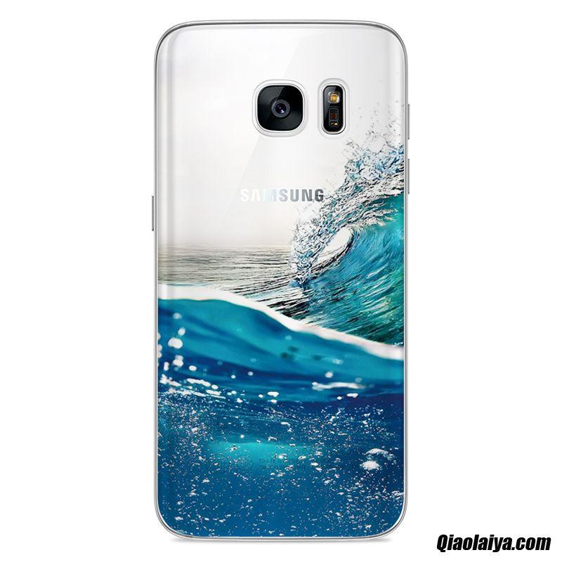 coque samsung galaxy s7 bleu
