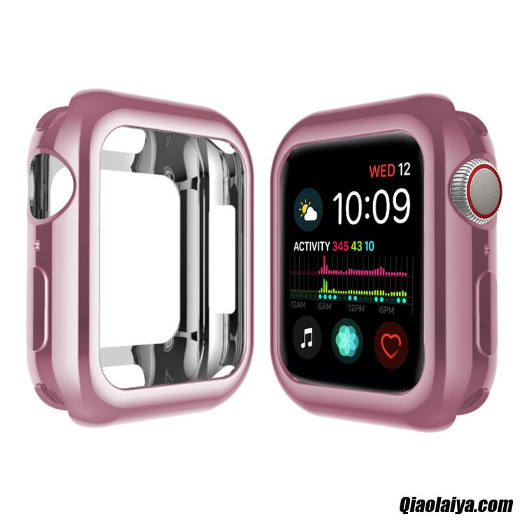 Acheter Apple Watch Series 5 Pendaison, Coque Pour Apple Watch Series 5, Etui Coque Stylé Darkviolet
