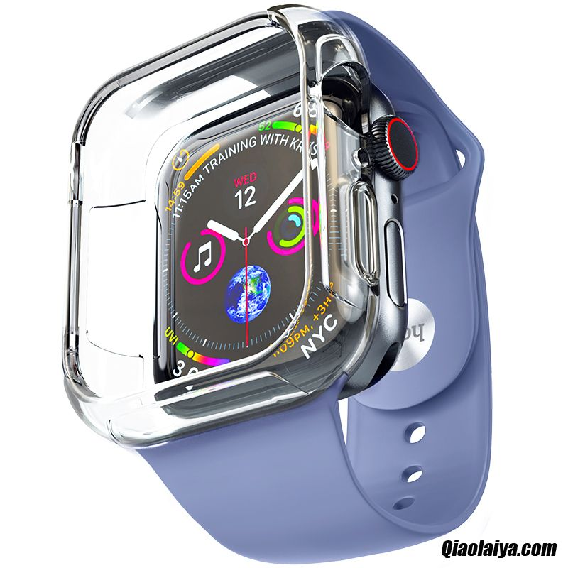 Coque Pour Apple Watch Series 4, Coques Portable Cyan, Coque De Portable Pour Iphone Coquille Pudding