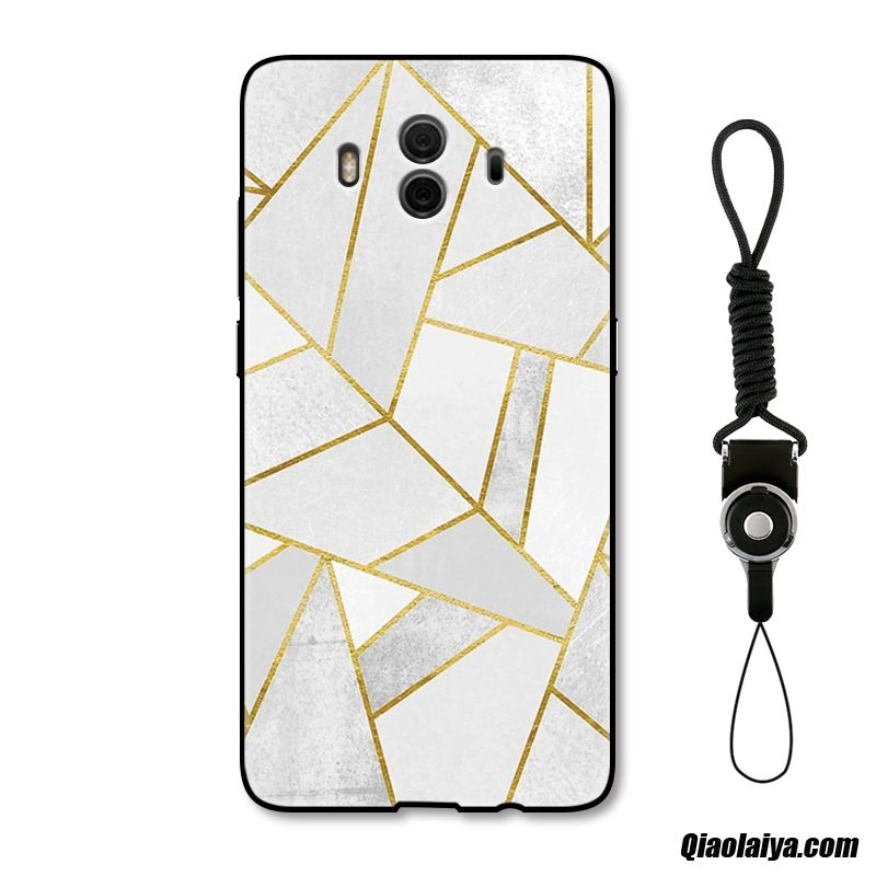 Coque Pour Huawei Mate 10 Animation, Etui Coque Blanc, Coque Pour Huawei Mate 10