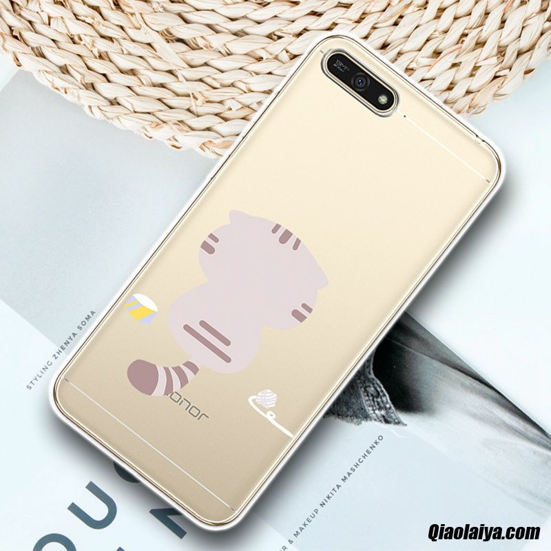 Coque Pour Huawei Y6 2018, Housse Pour Huawei Diamant, Housse Coque Discount Marine