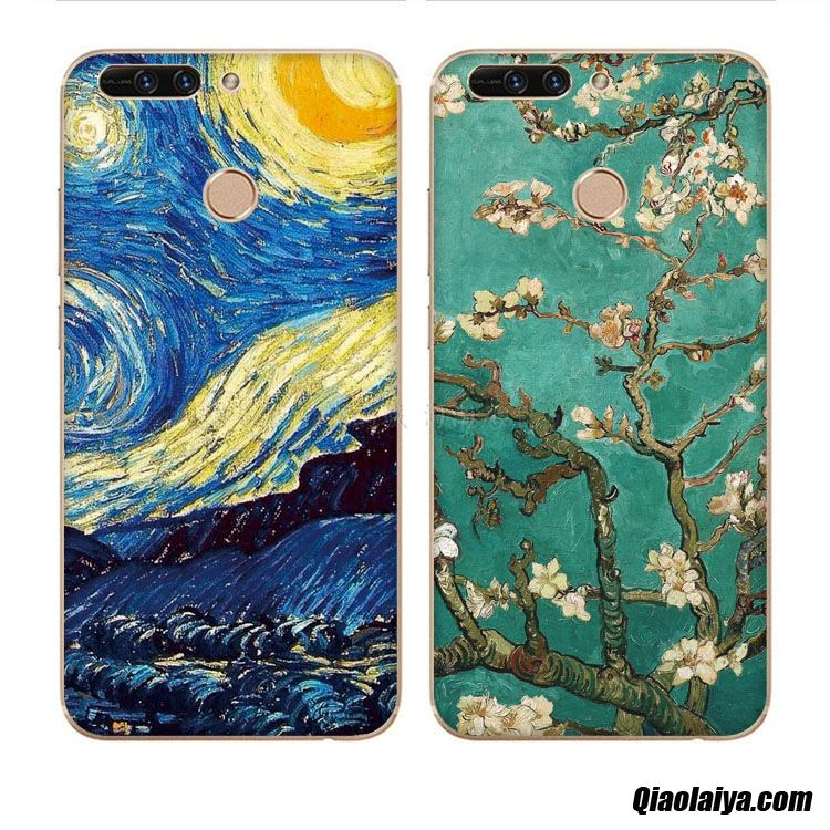 Coque Pour Huawei Y7 2018, Coque Personnalisable Blé, Coque Smartphone Huawei Y7 2018 Coquille Pudding