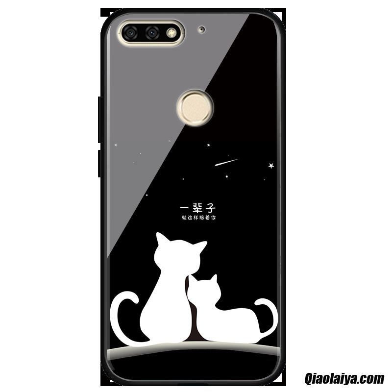 Coque Pour Huawei Y7 2018, Housse Site Coque Téléphone Chocolat, Telephone Portable Huawei Y7 2018 Glace Froide