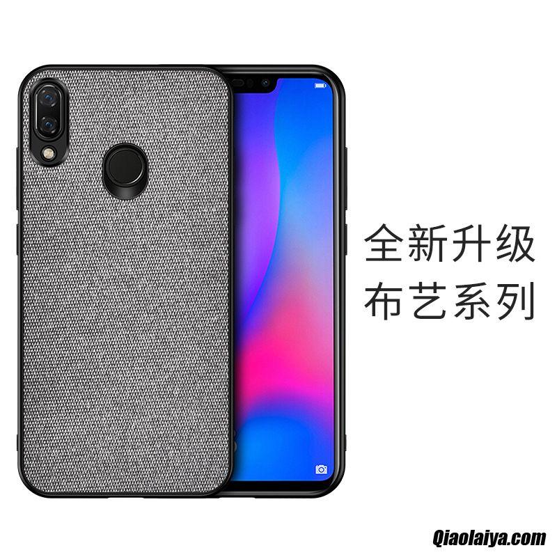 Coque Pour Huawei Y7 2019 Pas Cher, Prix Smartphone Huawei Y7 2019 Mature, Housse La Coque Personnalisée Brun
