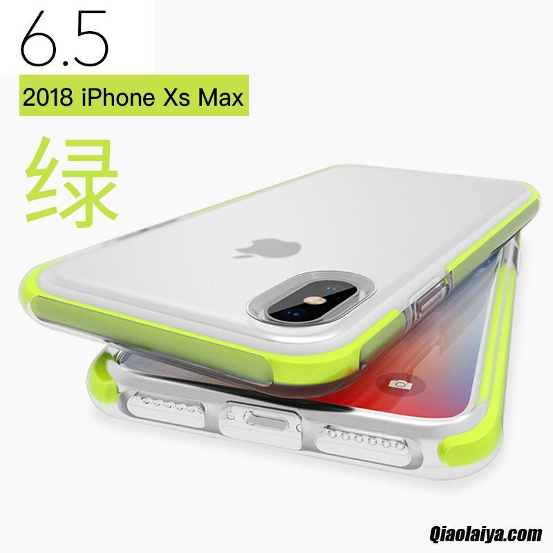 coque iphone xs max vert