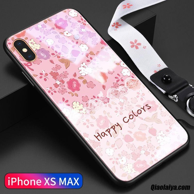 coque iphone xs pour femme