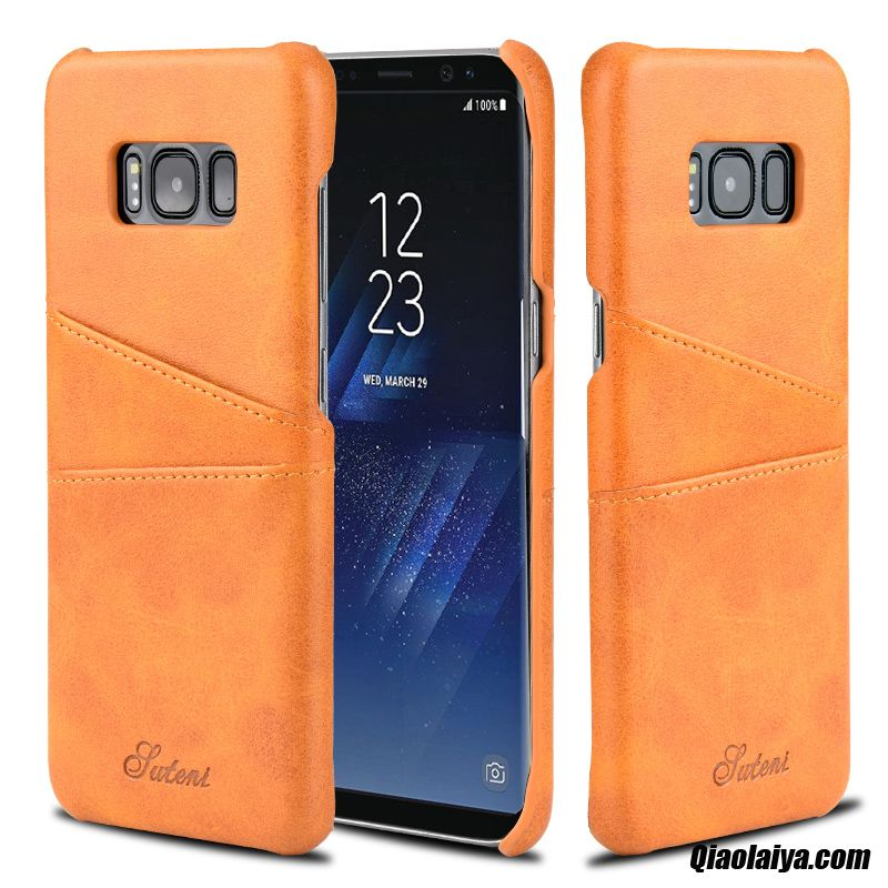 Coque pour samsung galaxy s8 pochette pour samsung galaxy for Housse samsung s8