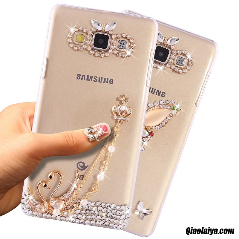 coque samsung galaxy a8 en strass luxe t l phone mobile. Black Bedroom Furniture Sets. Home Design Ideas