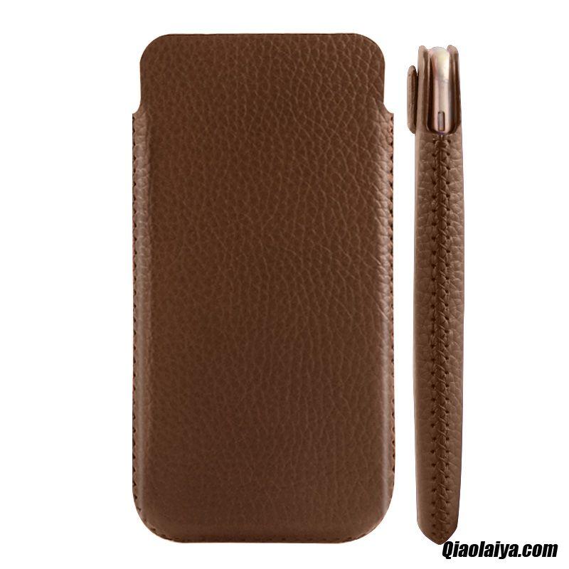 coque iphone 8 plus cuir beige