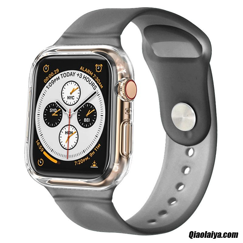 Coque Telephone Apple Watch Series 3 Chat, Coque Pour Apple Watch Series 3, Etui Personnalisé Coque Noir