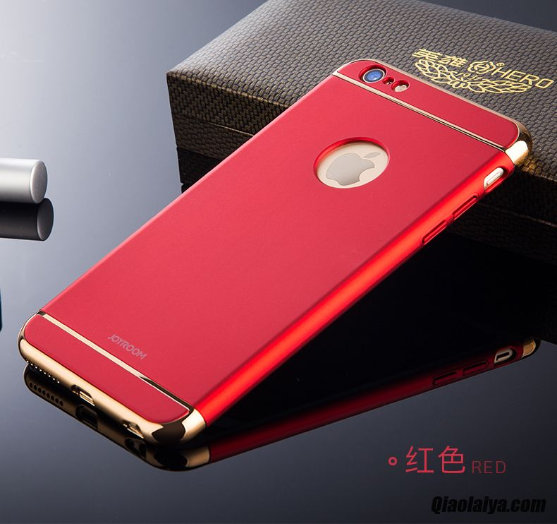 Etui iphone 6 plus faconnable d 39 or coque pour iphone 6 6s for Housse pour iphone 6