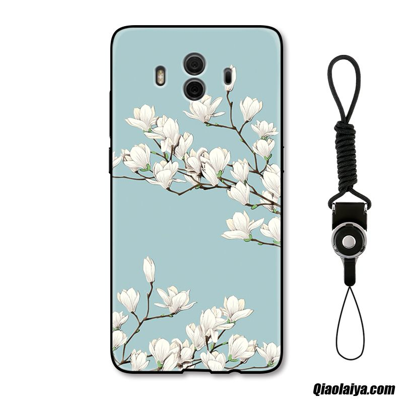 Etui La Coque Personnalisée Or, Coque Pour Huawei Mate 10, Huawei Mate 10 Coque Or Relief