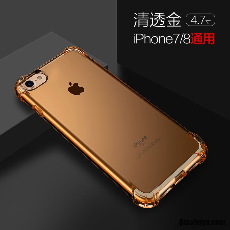 coque iphone 8 metallique
