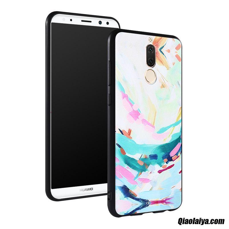 Housse Coques De Téléphone Sarcelle, Coque Pour Huawei Mate 10 Lite, Huawei Mate 10 Lite Coque Arriere Bricolage