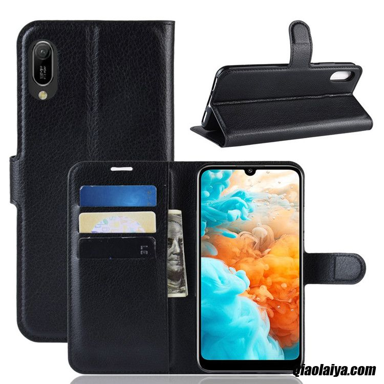 Housse Coques Portable Neige, Coque Pour Huawei Y6 2019, Mobile Huawei Y6 2019 Coque Métal
