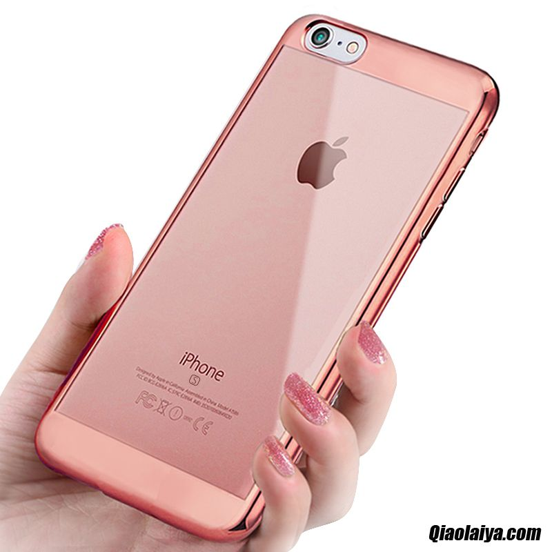 Housse cuir iphone 6 plus pourpre coque de t l phone for Housse iphone 6 plus
