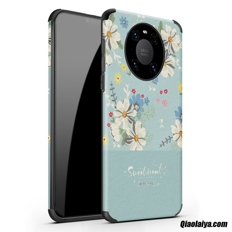 Huawei Mate 40 Coque Métallique, Etui Coques Personnalisable Neige, Coque Pour Huawei Mate 40