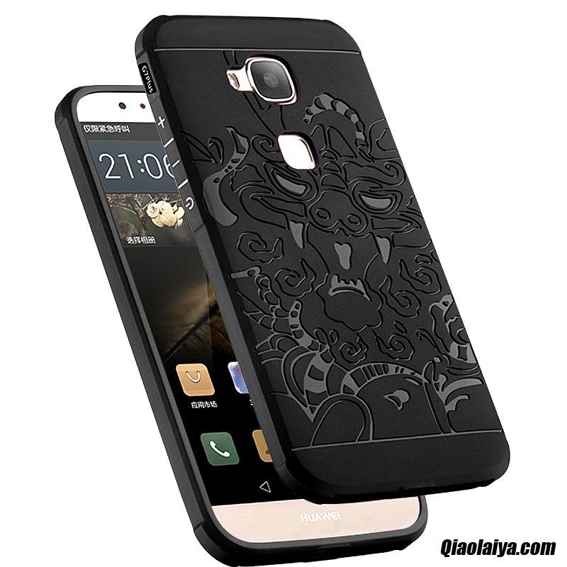 Téléphone Huawei G8 Bétail, Coque Pour Huawei G8 Soldes, Coque Pour Mobile Cyan